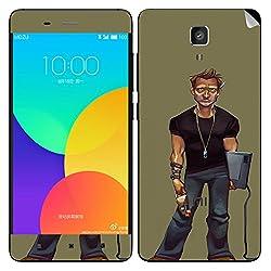 Theskinmantra Angry Man Xiaomi Mi4 mobile skin