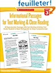 Informational Passages for Text Marki...