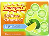 Emergen-C, 1000 mg Vitamin C, Lite, Citrus, 30 Packets, 4.0 oz (114 g)