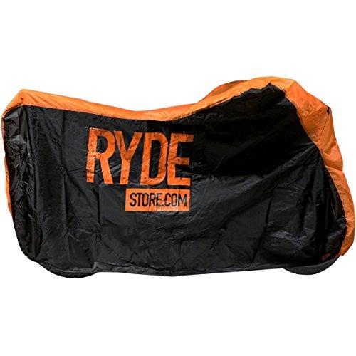 Ryde-Couverture-Impermable-en-NoirArgent-de-Moto-Moyen