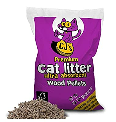 Cj's Premium Cat Litter 15 Litre