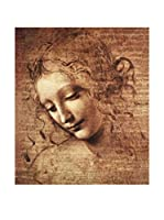 Legendarte Lienzo La Scapigliata di Leonardo da Vinci