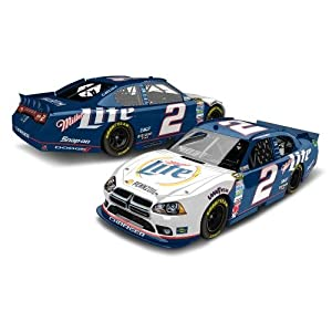 Buy 2012 Brad Keselowski #2 Miller Lite Retro Rusty Wallace Tribute Dodge Charger 1 64 Diecast Collectable Kids Hardtop Lnc by Action