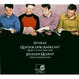 Dvorák: String Quartet Op. 96 American, Piano Quintet Op. 81 - Quatuor Jerusalem