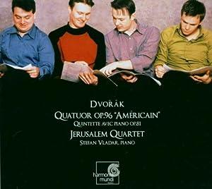 "Dvorák: Piano Quintet Op 81,  String Quartet Op 96 ""American"""