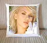 Scarlett Johansson Cushion (40cm by 40cm)