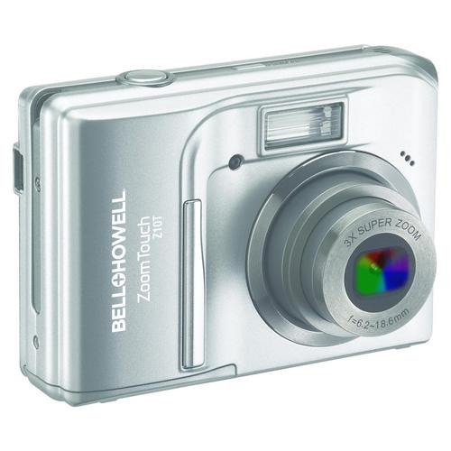 Bell and Howell Z10T-S ZoomTouch 10.0MP Touchscreen Digital Camera (Silver)