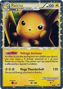 Amazon.com: Pokemon Legend HS3 Undaunted Single Card Raichu Prime #83