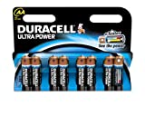Duracell Ultra MN1500 Alkaline AA Batteries - 8-Pack