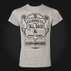 Guinness Gray Tall Dark Havesome Tee