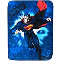 Superman Man of Steel Plush Throw