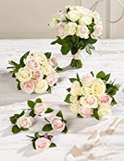 Pink and White Wedding Luxury Rose Collection 2