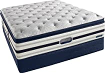 Hot Sale Beautyrest Recharge World Class Manorville Luxury Firm Pillow Top Mattress Set, King