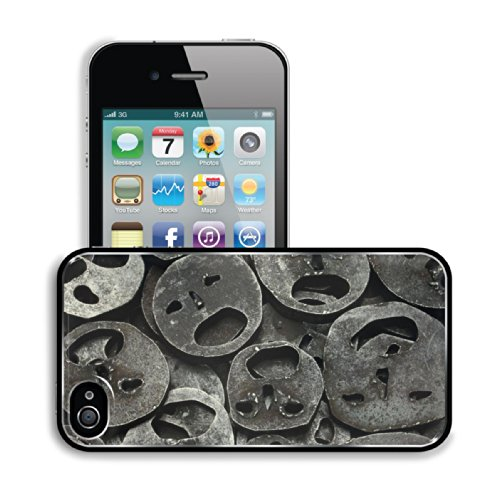 Metal Mask Iron Cut Out Apple Iphone 4 / 4S Snap Cover Premium Aluminium Design Back Plate Case Customized Made To Order Support Ready 4 7/16 Inch (112Mm) X 2 3/8 Inch (60Mm) X 7/16 Inch (11Mm) Luxlady Iphone_4 4S Professional Metal Cases Touch Accessorie front-630767