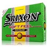 Srixon Soft Feel Tour Yellow Golf Balls (12 Balls) 2014