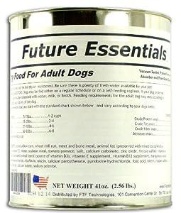 future essentials canned dry dog food long shelf life dry. Black Bedroom Furniture Sets. Home Design Ideas