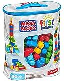 Mattel Mega Bloks First Builders DCH63 Bausteinebeutel - Large 80 Teile