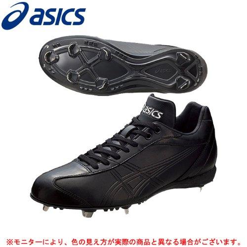 ASICS(アシックス) NEO REVIVE LT SFS101 野球 スパイク 金具埋め込み式 2014年 (ブラック×ブラック(9090), 27.5cm)