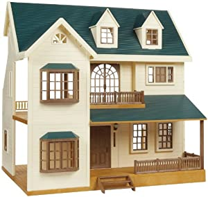 Amazon Com Calico Critters Deluxe Village House Toys