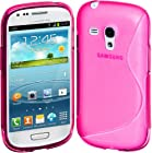 Cimo S-Line Back Case Flexible TPU Cover for Samsung Galaxy S III mini - Pink