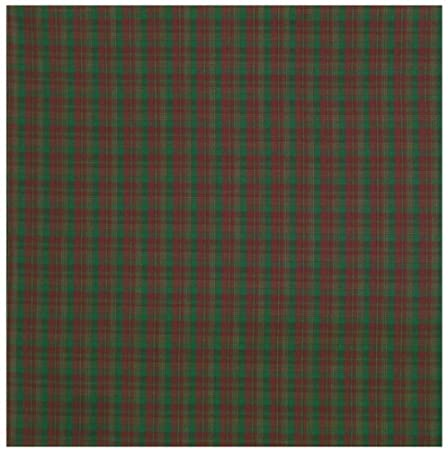 Traders & Co. Durable Flat Weave 100% Cotton Colorful Red and Green Plaid Tablecloth 60x60 ... at Sears.com