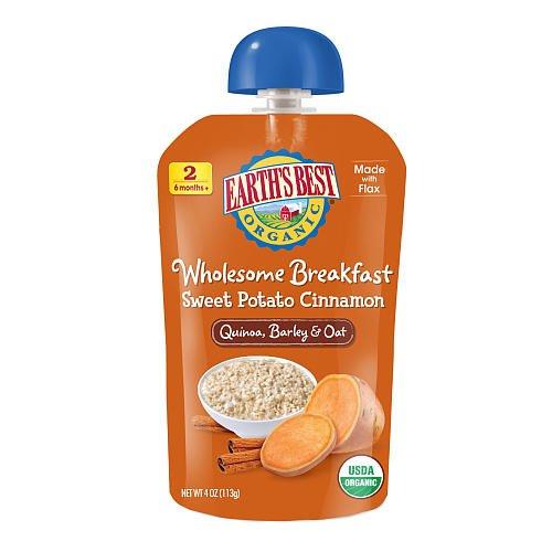Earth'S Best Baby Foods Sweet Potato Cinnamon (12X4 Oz) front-229292