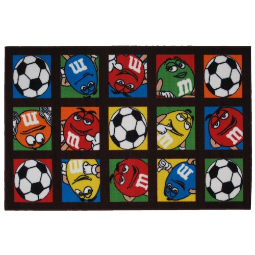 M & M's Soccer Area Rug 39