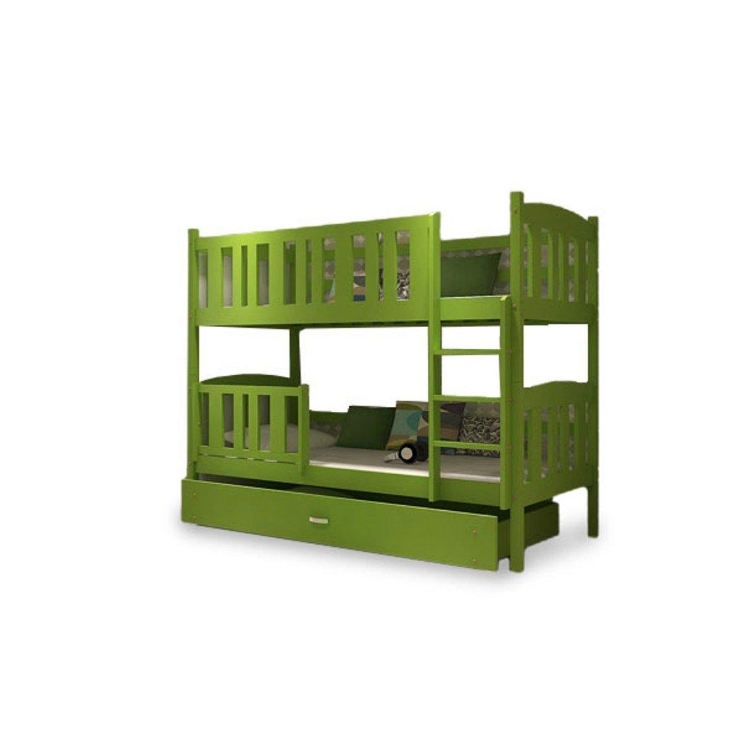 Kinder Bett Etagenbett Kinderbett Kinderzimmerbett 2 Personen Grün neu jetzt bestellen
