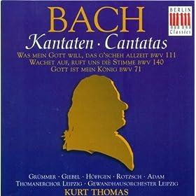 Wachet auf, ruft uns die Stimme, BWV 140: Recitative: Er kommt, er kommt, der Braut' gam kommt! (Tenor)