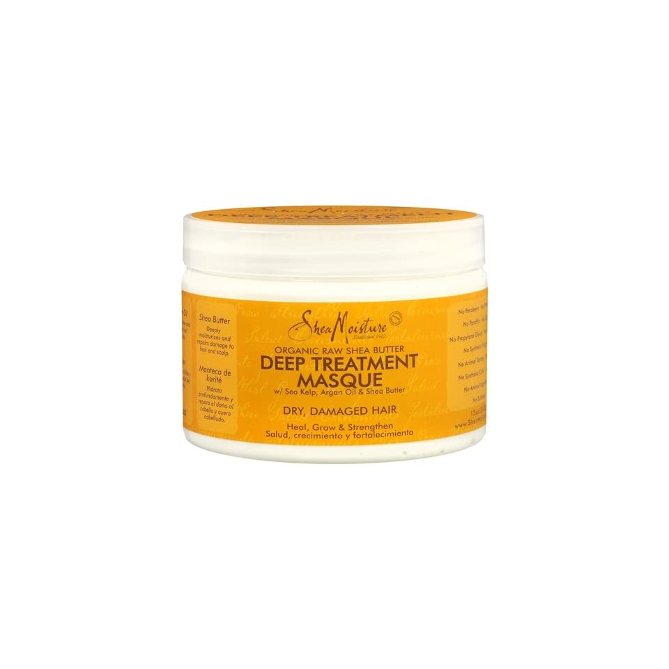 Shea Moisture Organic Raw Shea Butter Moisture Retention Shampoo