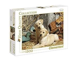 Clementoni - Puzzle de 1500 piezas, High Quality, diseño Perros De Caza (319763)