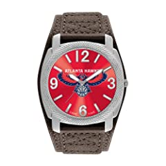 Game Time Mens NBA-DEF-ATL Atlanta Hawks Defender Analog Display Japanese Quartz... by Game Time