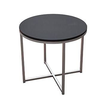 Mesa redonda moderna mesa redonda / mesa / mesa de centro / mesa redonda de comedor informal / pequeña mesa redonda (50 * 45cm)