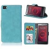 BONROY® Tasche Hülle für Handyhülle für BQ Aquarius