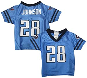 Chris Johnson Tennessee Titans Blue Baby Infant Jersey Jersey by NFL