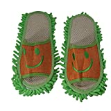 MUREN FLIP FLOP SLIPPER WITH MOP (GREEN)