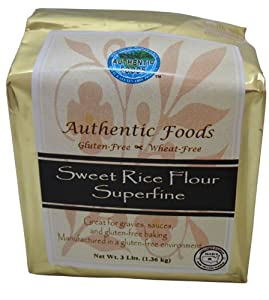Authentic Foods Superfine Sweet Rice Flour - 3lb from Authentic Foods