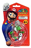 SUPER RARE Official Nintendo Super Mario Brothers Yoshi Football Soccer Figure Key Ring (Manchester United)