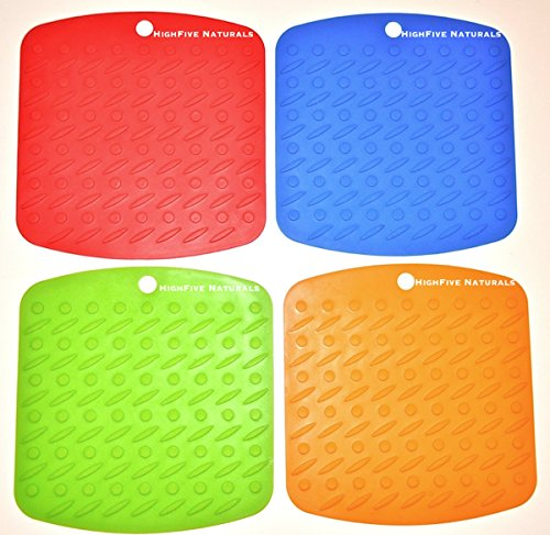 Silicone Pot Holders Premium - Trivet Hot Mat