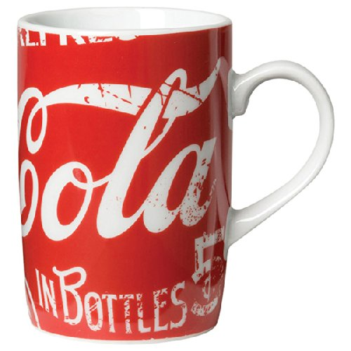 Red Classic Coke Ceramic Mug Delicous And Refreshing