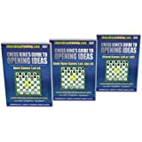 Chess King's Guide to Opening Ideas 3 DVD Combo