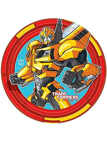 Transformers 'Prime' Small Paper Plates (8ct)
