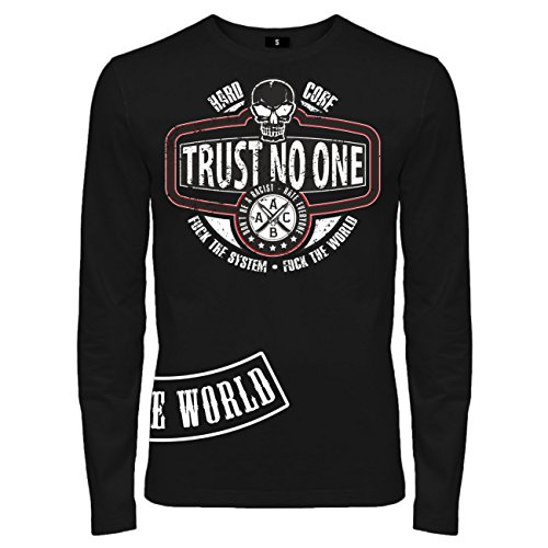 Spaß kostet -  T-shirt - Abbigliamento - Maniche lunghe  - Uomo Nero  nero