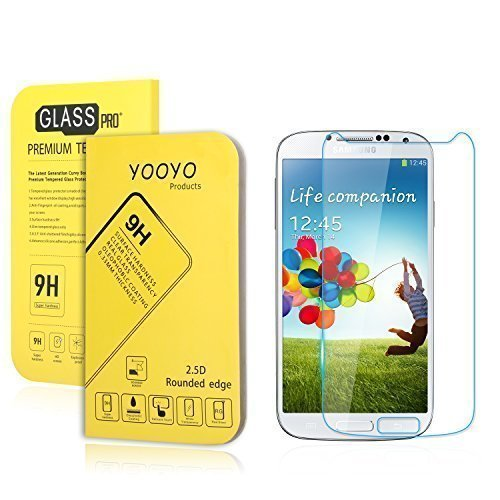 galaxy-s4-screen-protector-yooyotm-033mm-tempered-glass-crystal-clear-slim-anti-finger-print-scratch