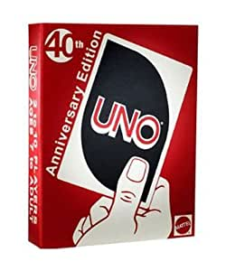 UNO UNO 40th Anniversery Edition Card Game