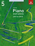 * OLD * ABRSM Selected Piano Exam Pieces 2011 - 2012 Grade 5