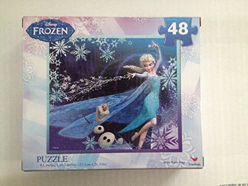 Offical Collector Item Disney Frozen Elsa and Olaf Puzzle