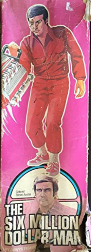 The Six Million Dollar Man Toy Doll 1970s