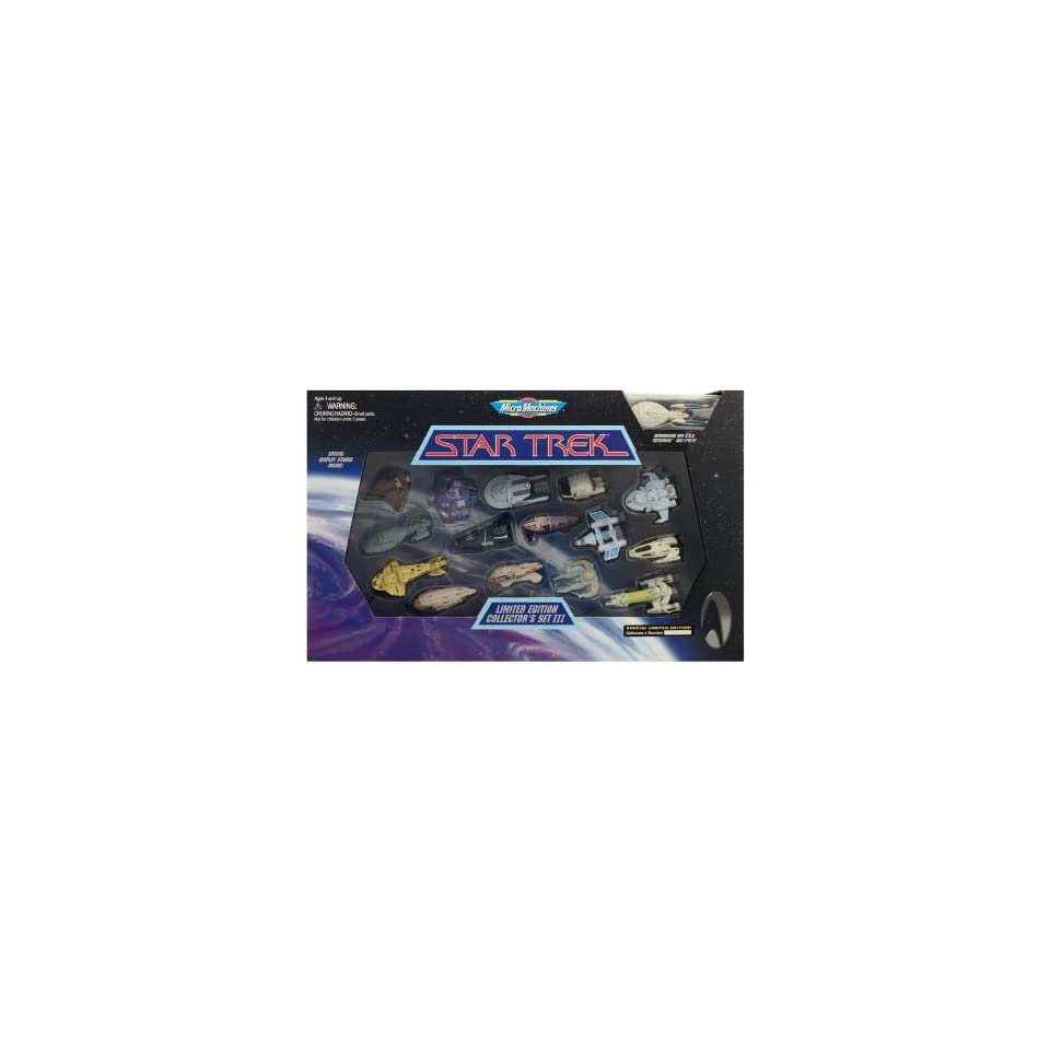 Micro Machines Star Trek Limited Edition Collectors Set III