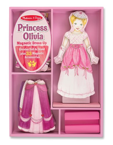 Melissa & Doug Princess Olivia Magnetic Dress Up - 1